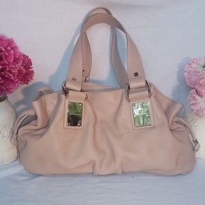 Michael Kors Tan Leather Handbag.